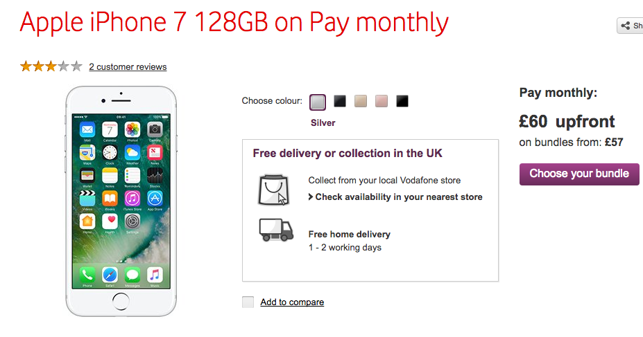 Iphone  Plus Deals Pay As You Go