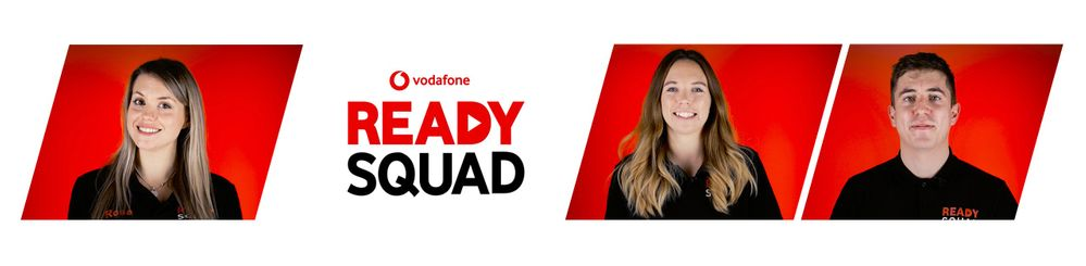 Introducing The Vodafone Ready Squad