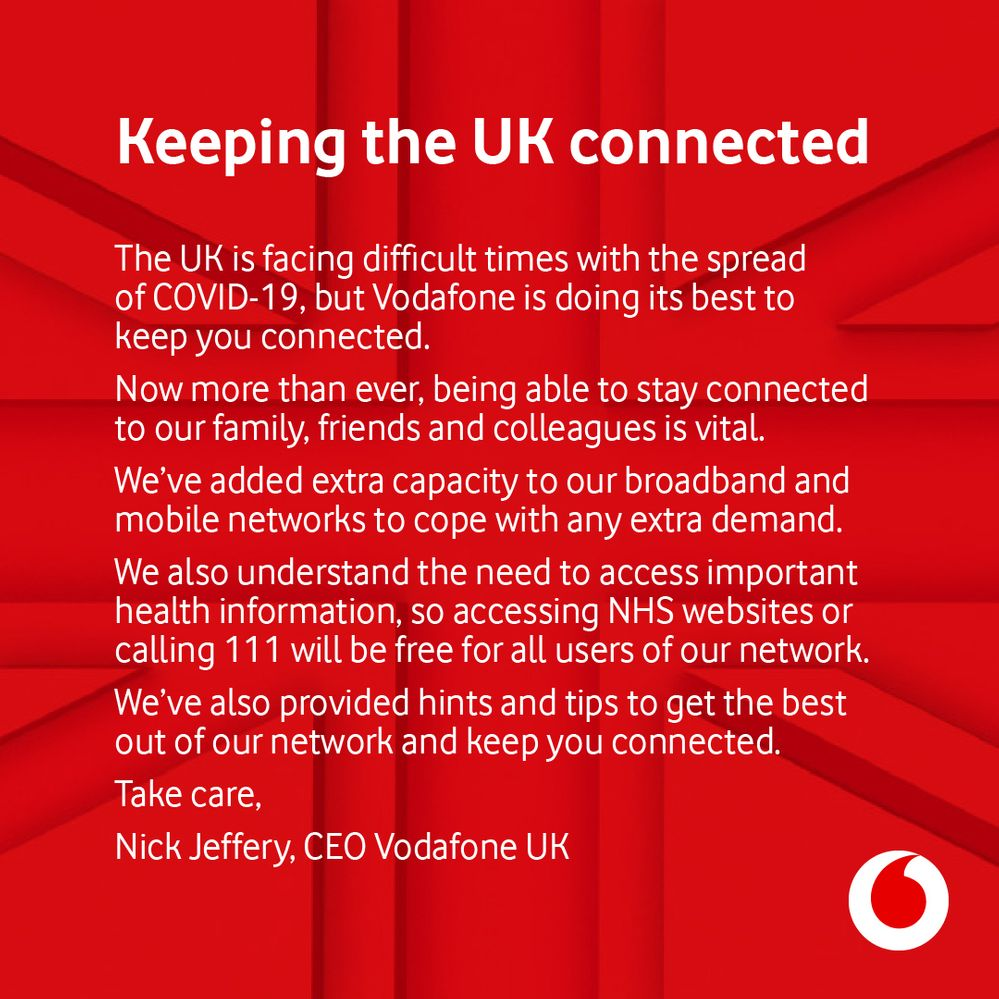 Keeping the UK connected