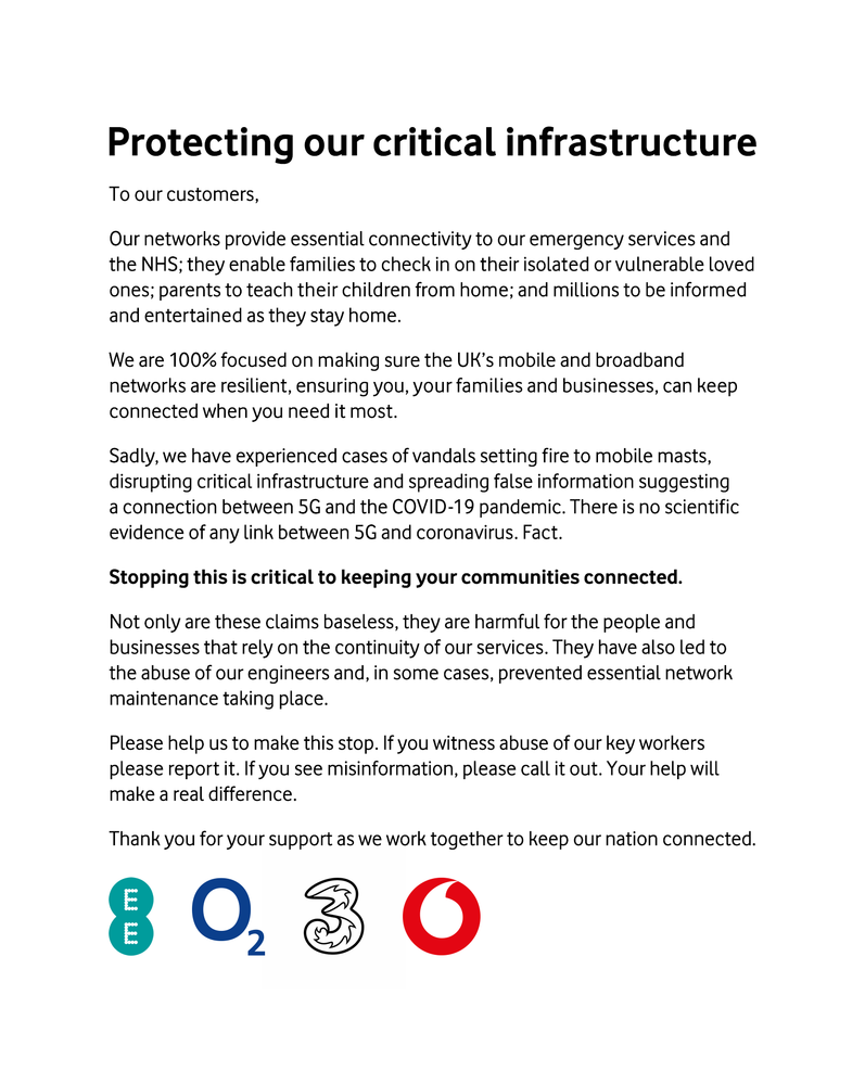 Protecting our critical infrastructure
