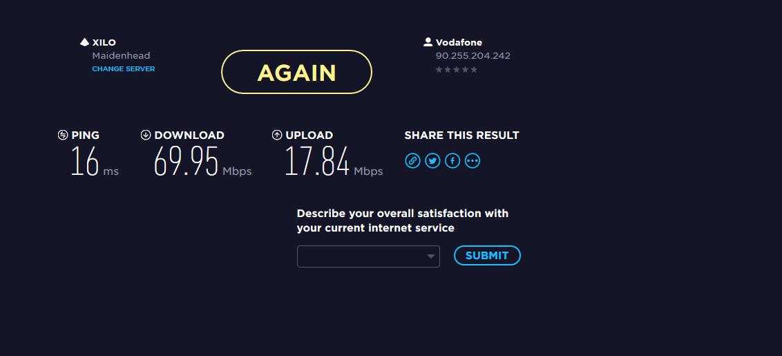 VodaFone Broadband Wi-Fi losing strength and dropp