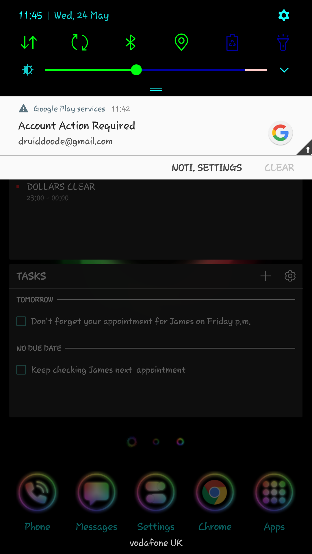 Solved Blagged By Google Play Service S Community Home