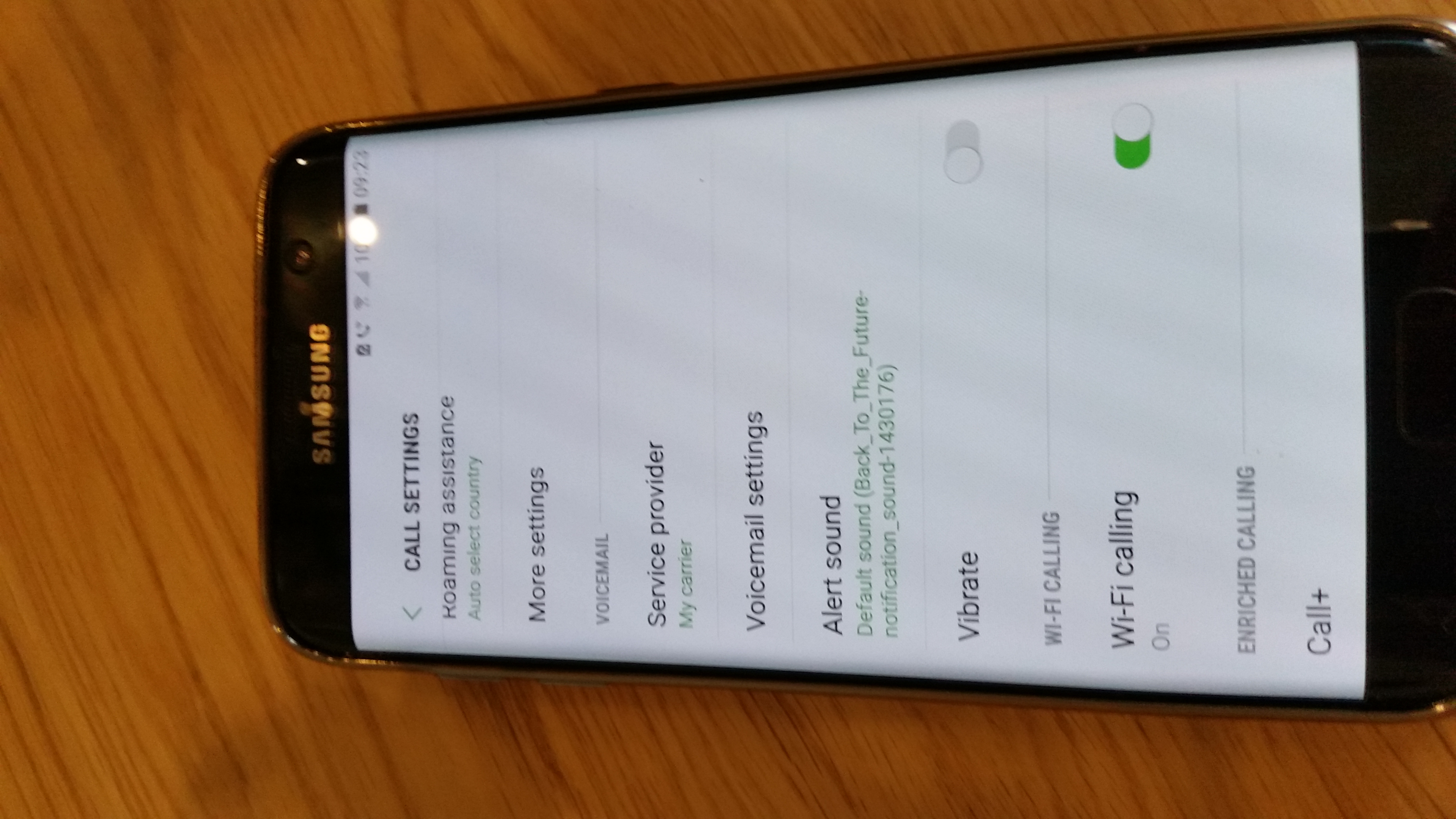 Solved: Galaxy S7 EDGE wifi calling, no option - Page 2 - Community home